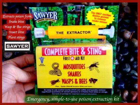 sawyer Snake Bit Kit ad