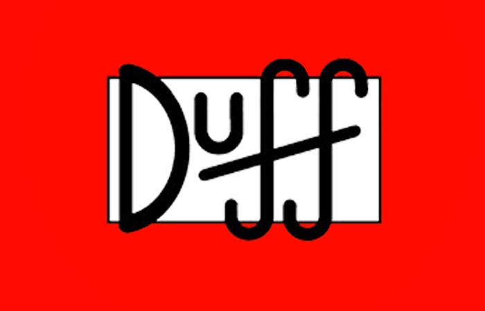 Iphone Wallpaper Icon Template Recreating The Duff Logo Willbridger1993