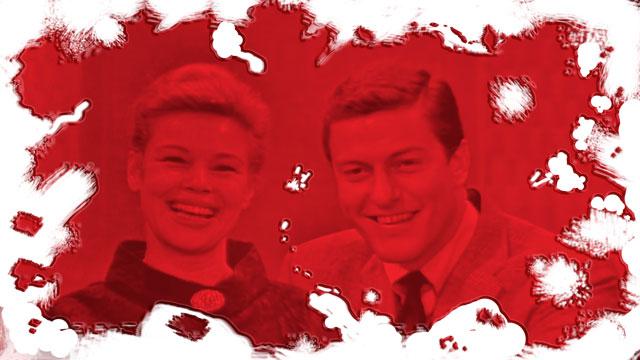 Betsy Palmer and Dick Van Dyke