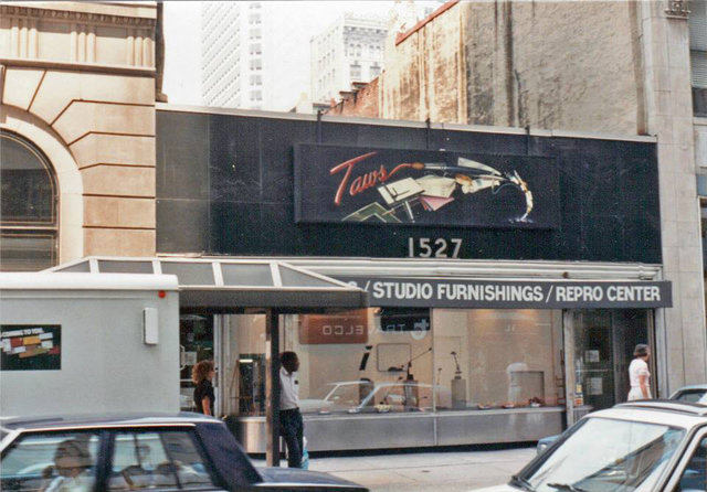 Taws Artist Materials circa 1988