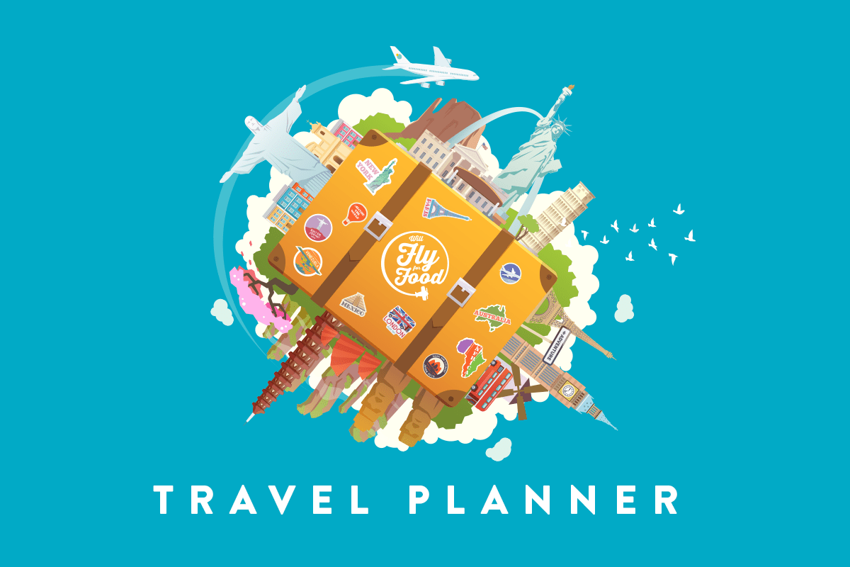 Trip Travel Plan Your Trip With The Will Fly For Food Travel Planner Will