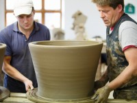 Gabriel and extra large pot