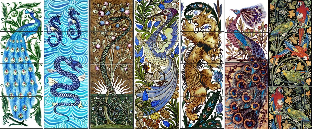 From Arts And Crafts To Art Nouveau William De Morgan Tiles