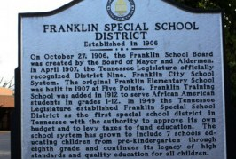 Contract for Director of Franklin Special School District Extended