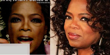 oprah comparison photos