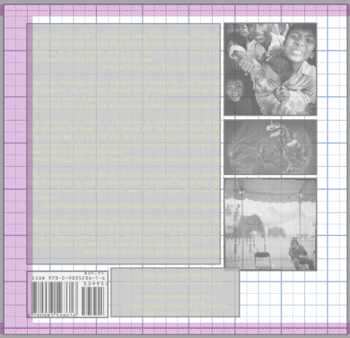 back cover edit screen