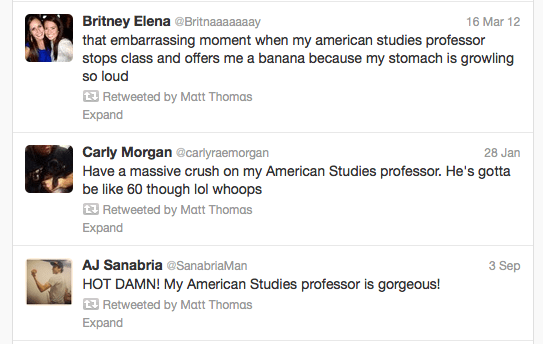 retweets from Matt Thomas