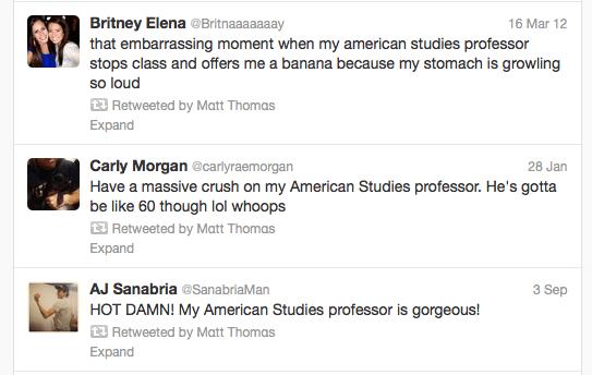 retweets from Matt Thomas