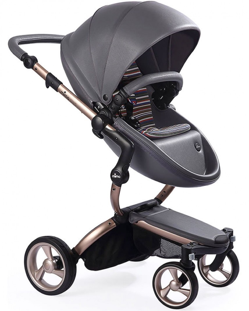 Mima Xari Stroller Harga Mima Xari Stroller Chassis Rose Gold Set Cool Grey St Pack Autumn Stripe