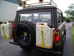 Bug Out Vehicle: Swing Away Fuel Storage