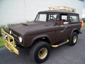 Creek's Former BOV: 1968 Ford Bronco