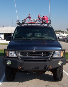Bug Out Vehicle: Front Brush Guard