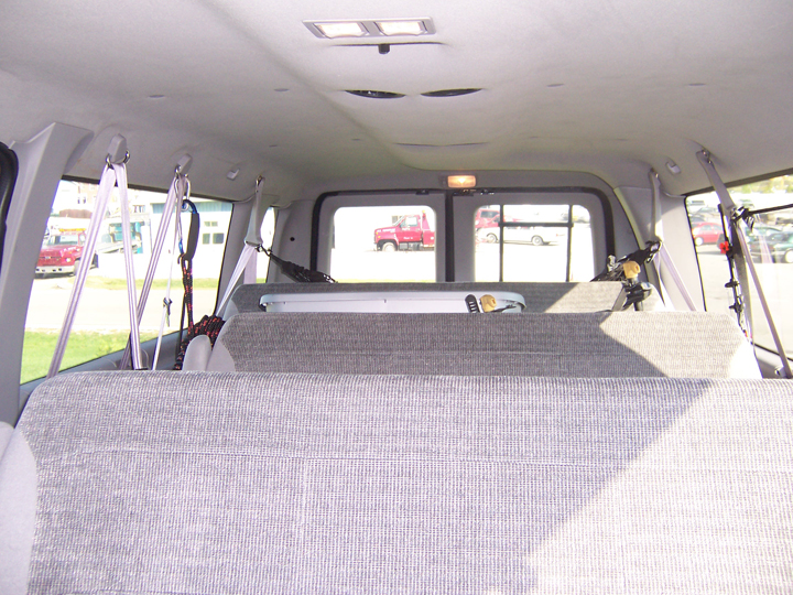 Bug Out Vehicle Interior : Bug out vehicle e econoline van