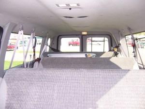 Bug Out E350 Vehicle: Interior