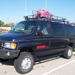 Bug Out Vehicle: Creek's Former 4×4 Ford E350 Van
