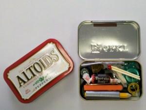 Altoids Tin Survival Kit