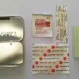 3 Adhesive Bandages, 1 Alcohol Prep Pad, 2 Sheets Waterproof Notepaper