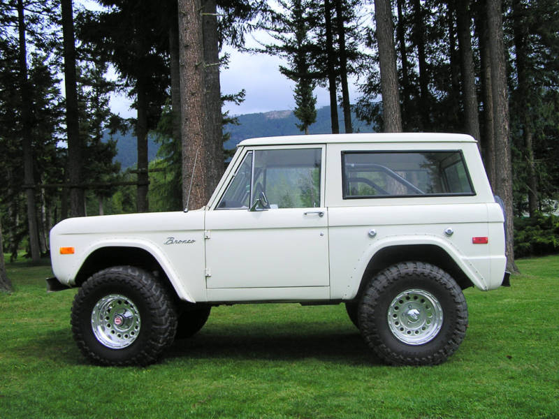Creek\'s 1972 Ford Bronco Bug Out Vehicle –