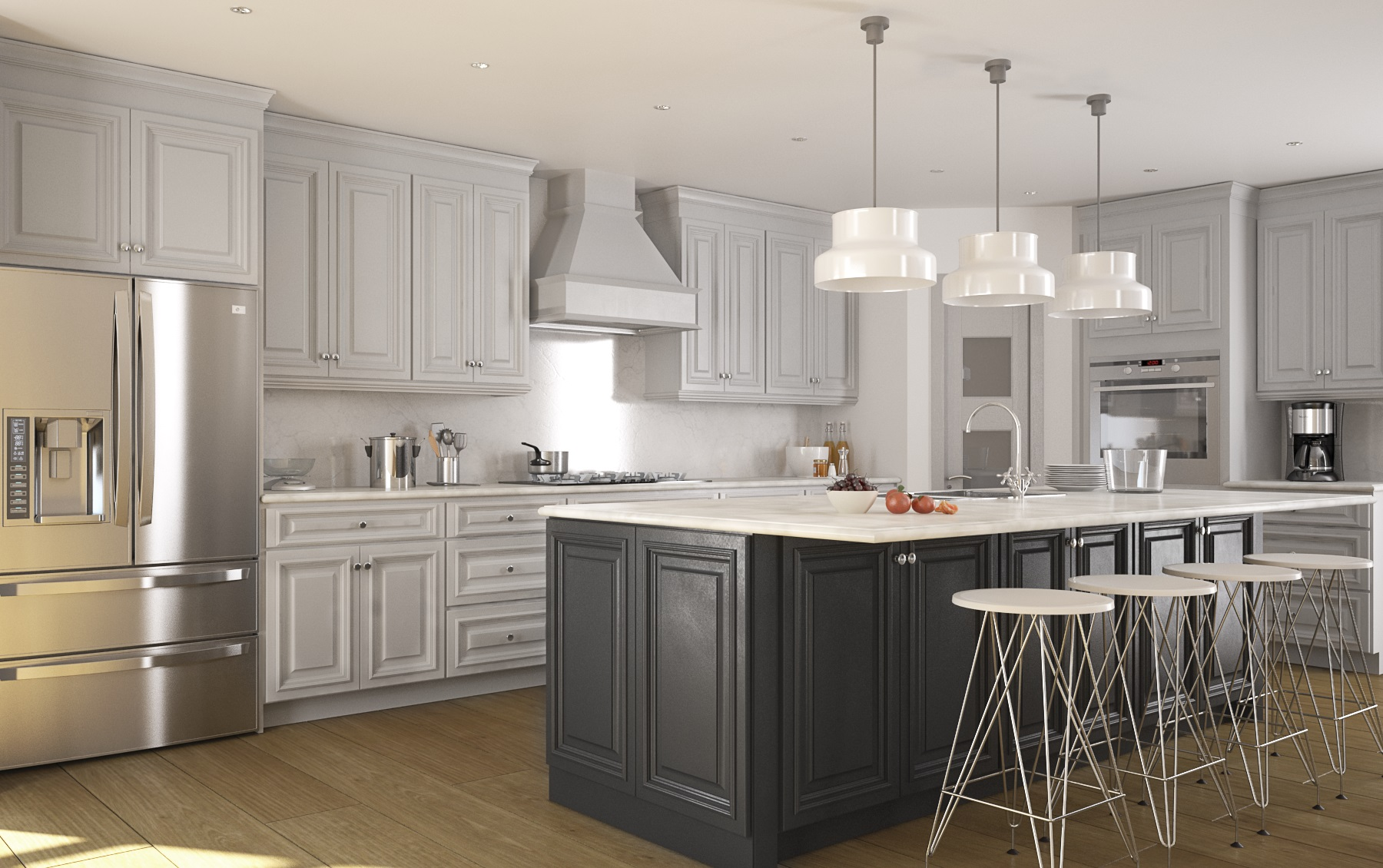 Photos Of Gray Kitchen Cabinets Roosevelt Dove Gray Kitchen Cabinets Kitchen Cabinets