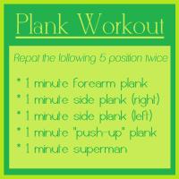 10 Minute Planks!