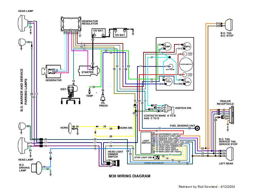 Cj2a Wiring Diagram - Wiring Diagrams