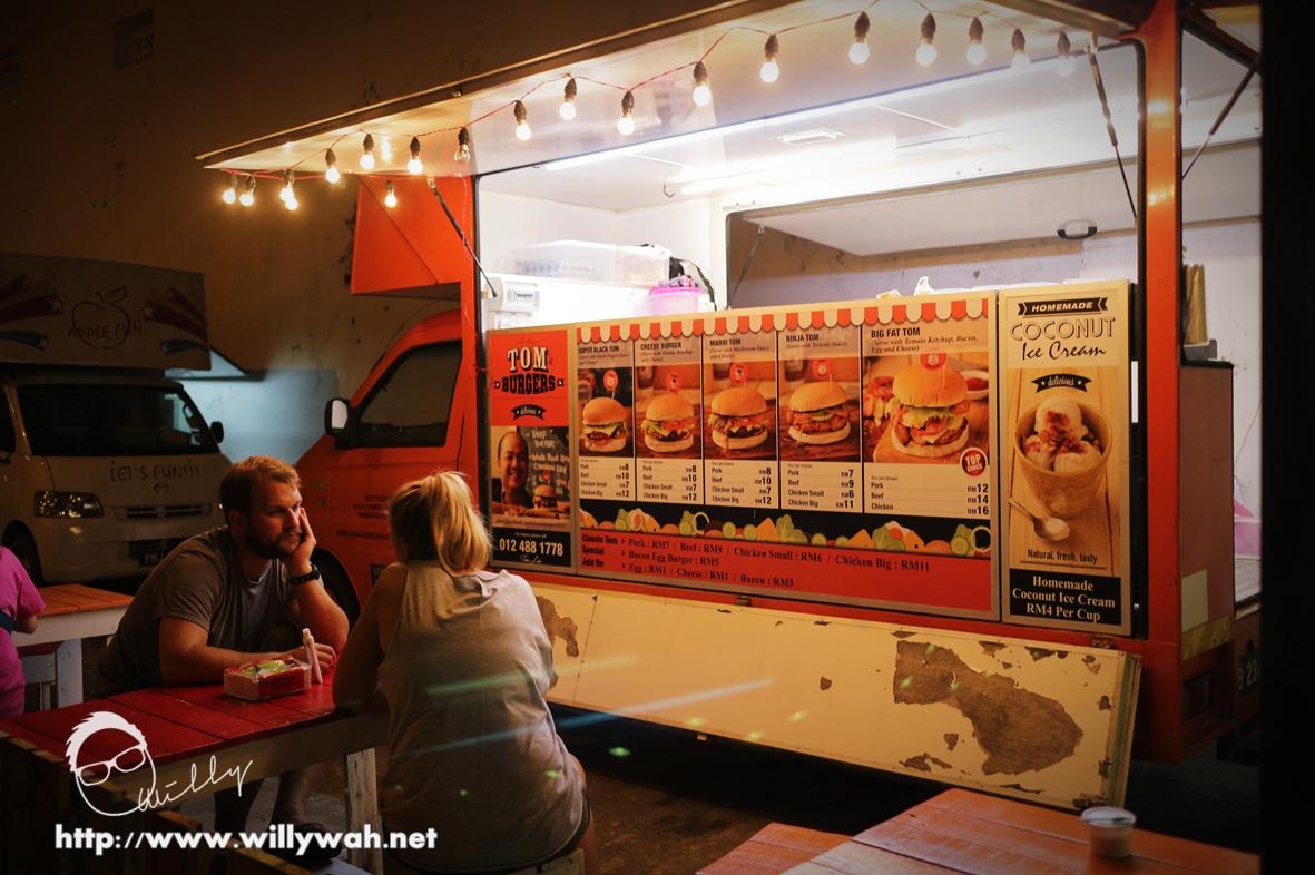 槟城美食:三辆餐车 Chit Chat Corner