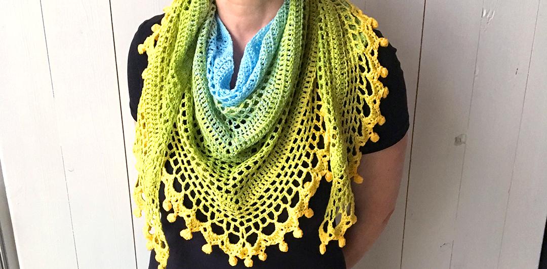 Beginner Shawl Crochet Pattern Erieairfair
