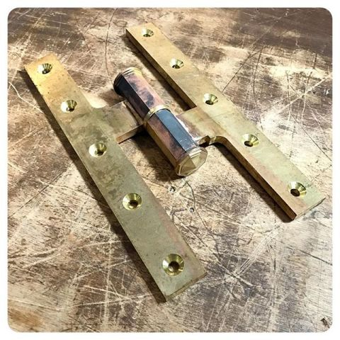 new paumelle hinge with concealed bearings - cannot wait to see these finished