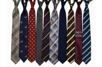 His Collection of Ties