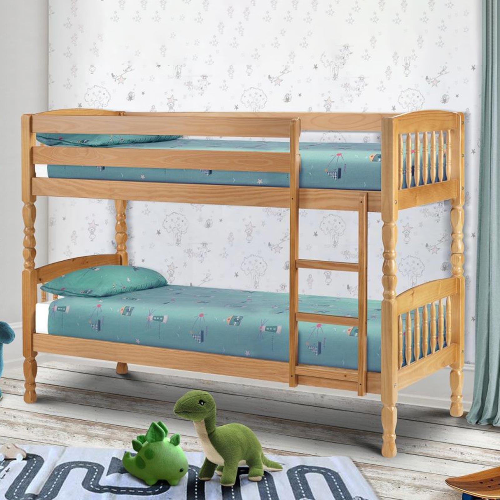 Bunk Bed Mattress Lincoln Bunk Beds With 2 Mattresses Wilsons Carpets