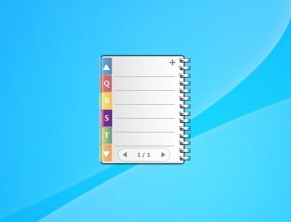 Phonebook - Windows 7 Desktop Gadget