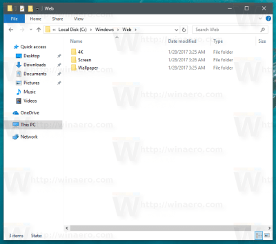 Where are Windows 10 Default Wallpapers Stored