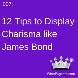 007 - 12 tips to display charisma like james bond
