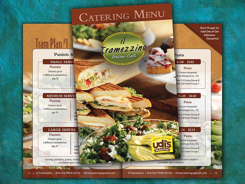 Restaurant Catering Menu \u2013 WinBach Marketing Images Websites