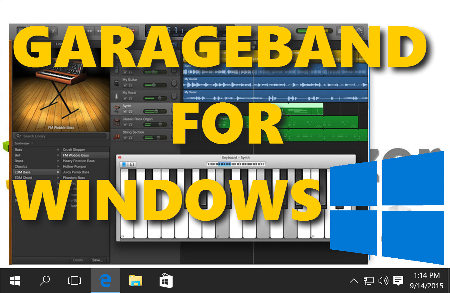 Garageband Fade In Garageband For Windows How To Run It On A Pc And 11 Alternatives