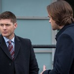 "Supernatural -- ""Don't Call Me Shurley"" -- Image SN1120A_0047.jpg -- Pictured (L-R): Jensen Ackles as Dean and Jared Padalecki as Sam  -- Photo: Liane Hentscher/The CW -- © 2016 The CW Network, LLC. All Rights Reserved"