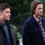 """Supernatural -- """"American Nightmare"""" -- SN1204a_0148.jpg -- Pictured (L-R): Jensen Ackles as Dean and Jared Padalecki as Sam -- Photo: Robert Falconer/The CW -- © 2016 The CW Network, LLC. All Rights Reserved"""