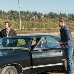 "Supernatural -- ""LOTUS"" -- SN1208b_0087.jpg-- Pictured (L-R): Jared Padalecki as Sam, Misha Collins as Castiel   and Jensen Ackles as Dean -- Photo: Diyah Pera/The CW -- © 2016 The CW Network, LLC. All Rights Reserved"