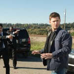 "Supernatural --""LOTUS""-- SN1208b_0201.jpg -- Pictured (L-R) Stephen Lobo as Rick Sanchez and Jensen Ackles as Dean -- Photo: Diyah Pera/The CW -- © 2016 The CW Network, LLC. All Rights Reserved"