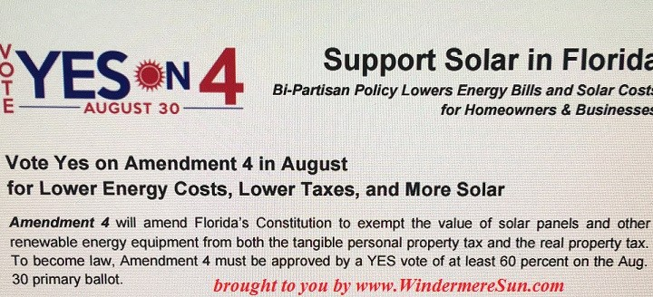 Vote YES on Amendment 4 in August Primary