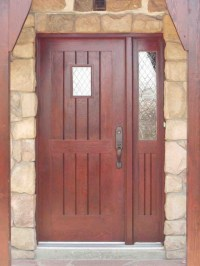 Wood Doors, Custom Entrance Wood Doors-Installation In ...