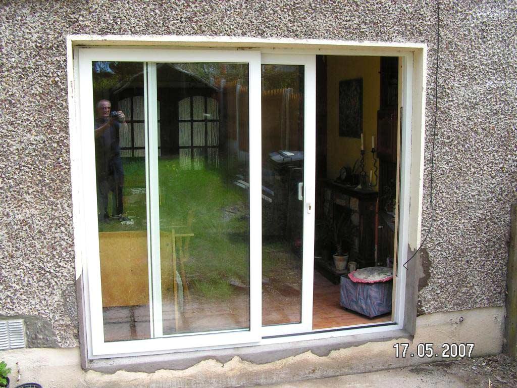 Sliding Patio Doors Pvc And Alu Clad Doors