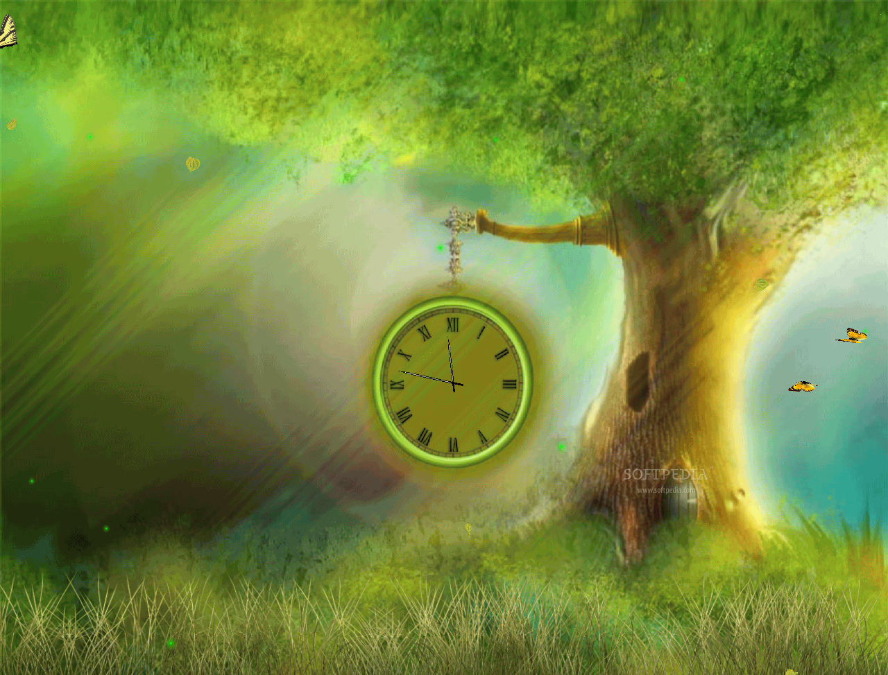 Live Animated Wallpapers For Windows 7 Free Download Full Version Download Fantasy Clock Animated Wallpaper 1 0 0