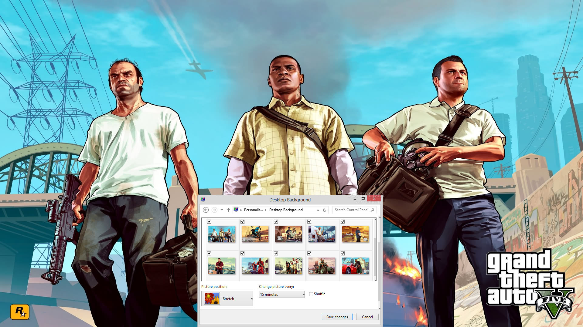 3d Hd Wallpapers For Windows 7 Free Download Download Grand Theft Auto V Windows 7 Theme 1 00