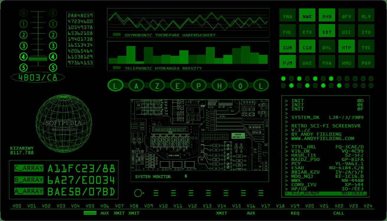 Earth 3d Live Wallpaper Mac Download Retro Sci Fi Screensaver 1 22