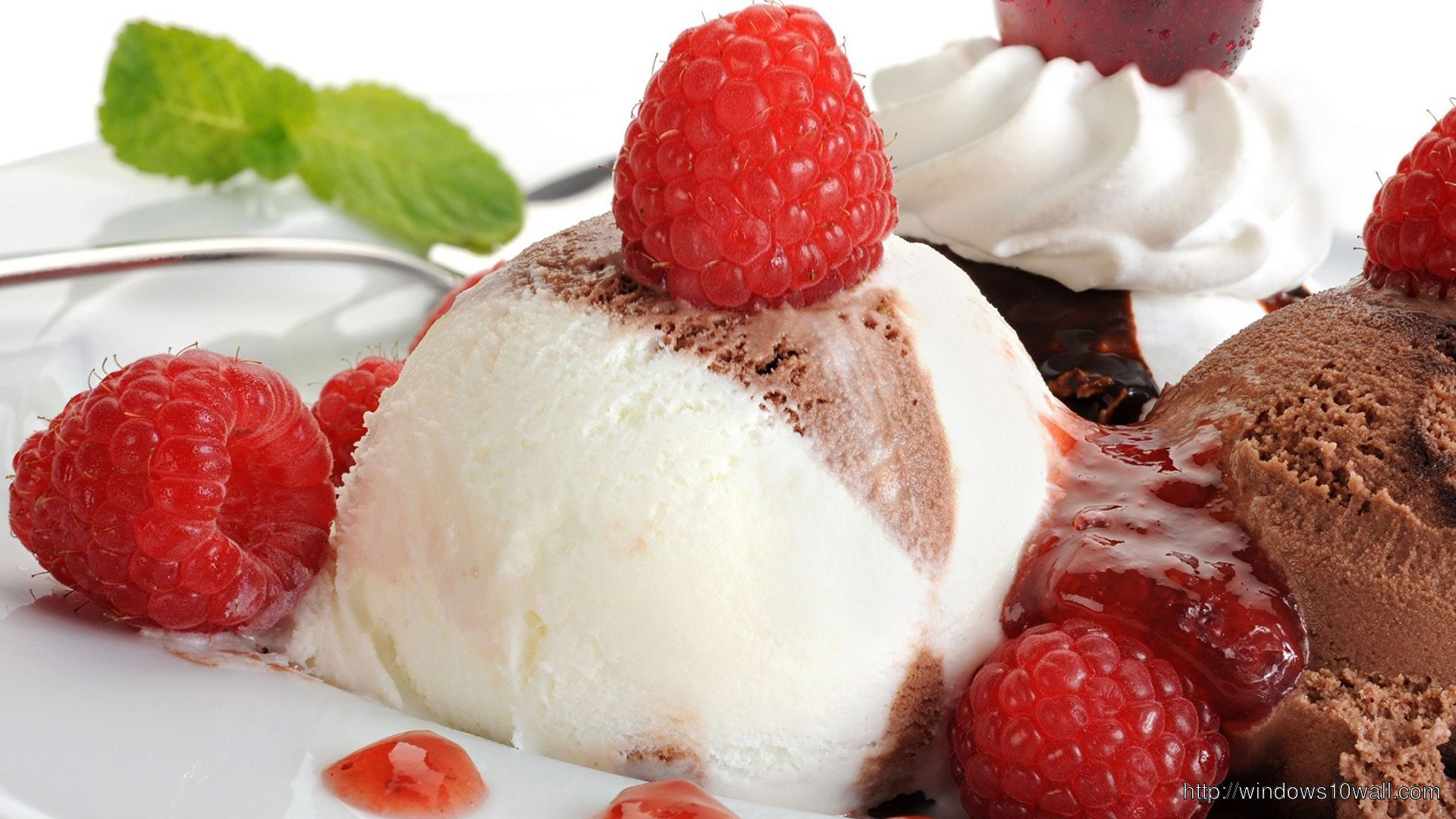 Eminem Wallpaper Iphone 5 Strawberry Chocolate Ice Cream Hd 1080p Wallpaper