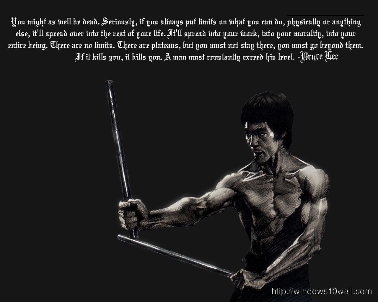 Alone Boy Hd Wallpaper With Quotes Unique Bruce Lee Quotes New Hd Wallpaper Windows 10