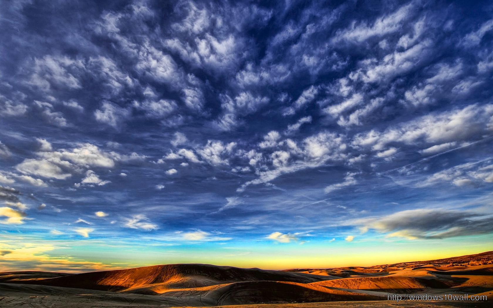 Blue Lamborghini Hd Wallpaper Beautiful Blue Sky Hd Cloud Wallpaper Windows 10 Wallpapers