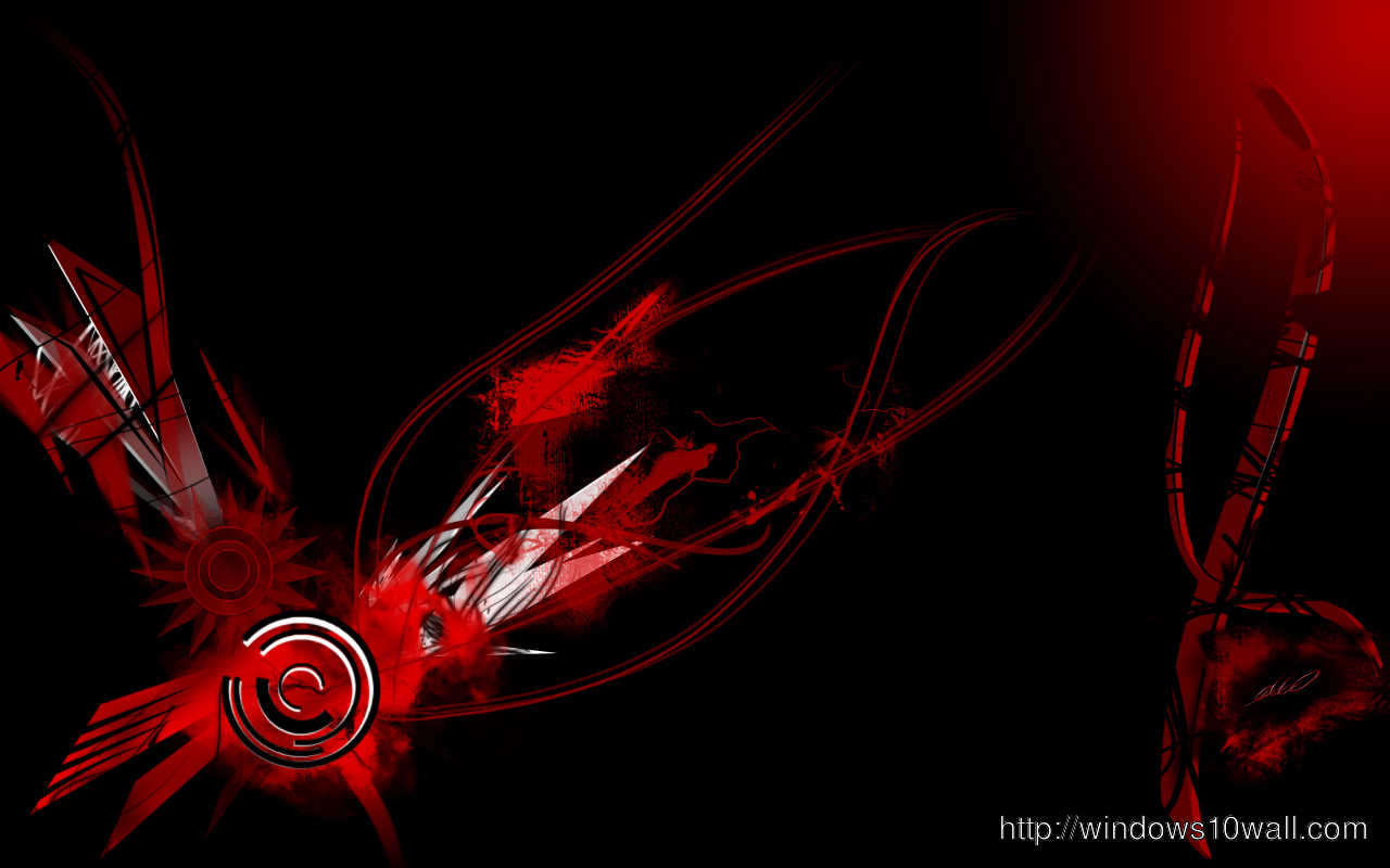 Girl Boy Sad Hd Wallpaper Abstract Red Black Widescreen Windows 10 Wallpapers