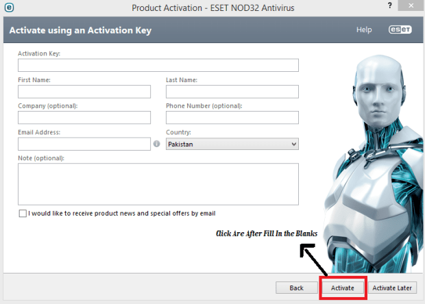 ESET NOD32 Antivirus 8 Crack Username and Password Till 2020